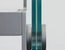 Scala a rampe in ferro e cristallo - Elite Strike Glass
