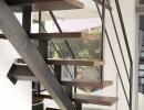 Scala a rampe in ferro e legno– Mod.B Air