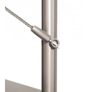 Scala a chiocciola tonda in ferro e legno – Mod. 40T