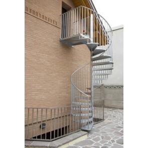 Casa Moderna Roma Italy Scala Chiocciola Esterno