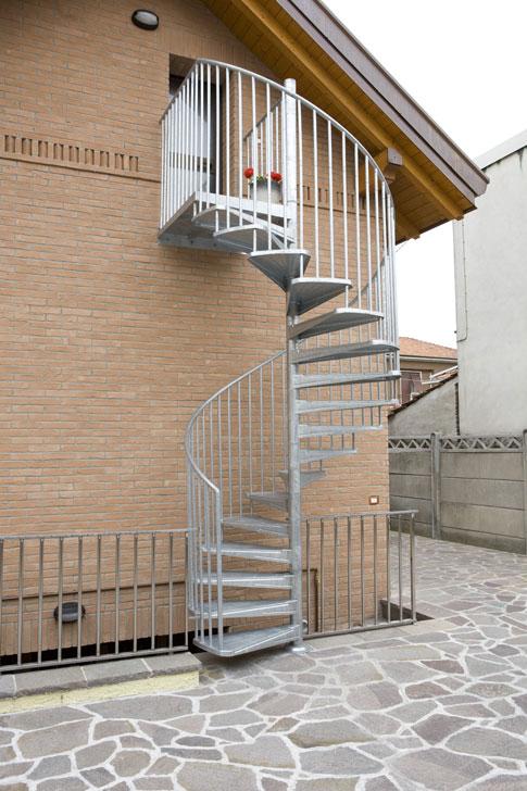 Scale A Chiocciola A Milano Zichichi