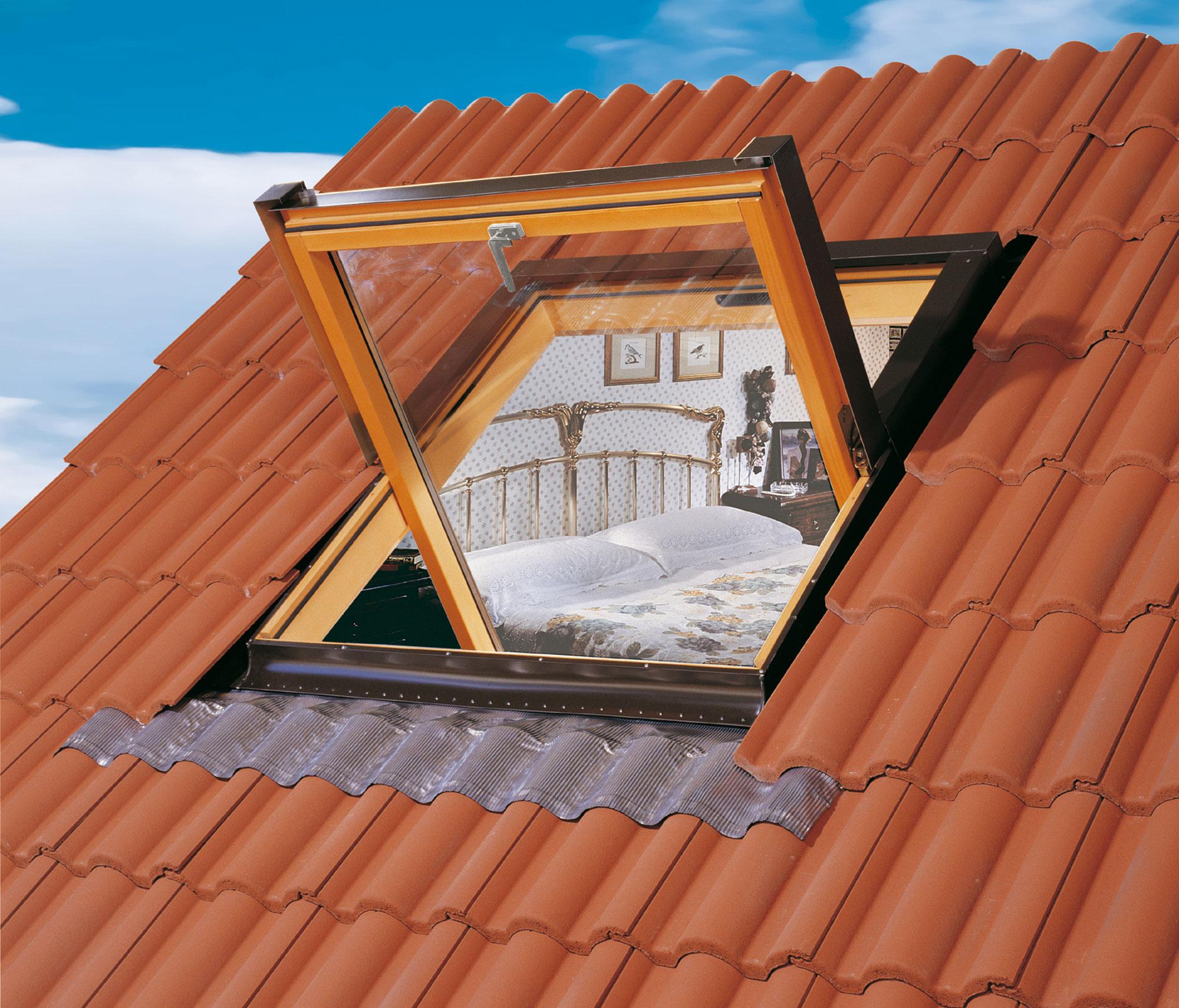 Finestra per tetti  VL – Apertura a Compasso